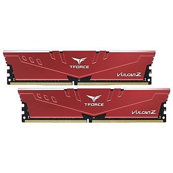32 GB DDR4 3200 T-FORCE VULCAN Z RED 16x2 CL16-20 TLZRD432G3200HC16FDC01