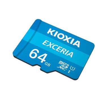 64GB MICRO SDHC C10 100MB/s KIOXIA LMEX1L064GG2