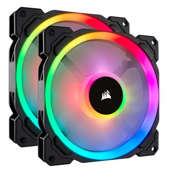 CORSAIR LL140 CO-9050074-WW ÇÝFT IÞIK DÖNGÜ RGB LED PWM FAN