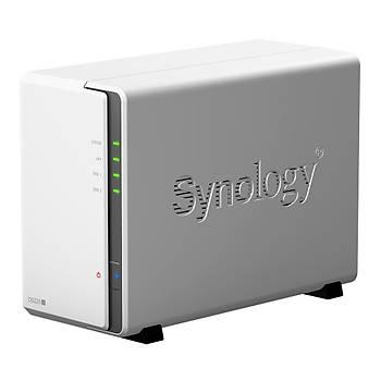 SYNOLOGY DS220J NAS 3.5x2YUVA 1 LAN NAS SERVER