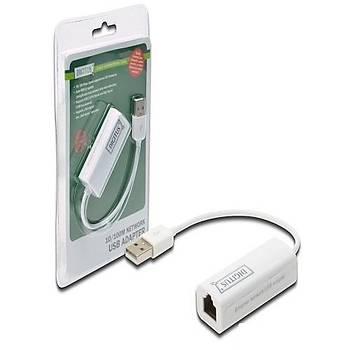 DIGITUS DN-10050 USB 2.0 10/100 ETHERNET ADAPTÖR