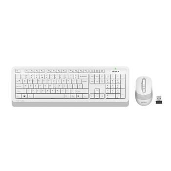 A4 TECH FG1010 Q 2.4 GHZ USB BEYAZ KLAVYE+MOUSE KABLOSUZ SET