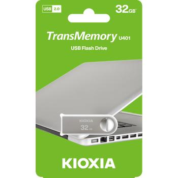 32GB USB2.0 KIOXIA METAL USB BELLEK LU401S032GG4