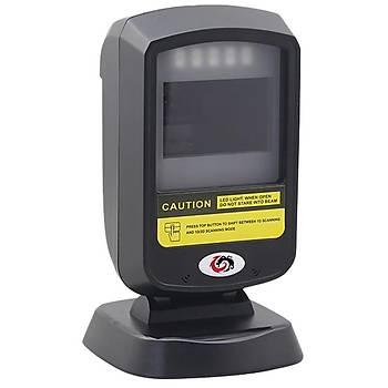 SUNLUX XL-2303 MASAÜSTÜ KAREKOD OKUYUCU USB BAÐLANTILI