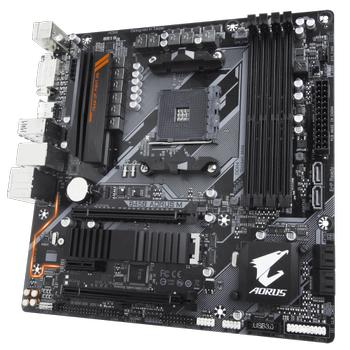 GIGABYTE B450 AORUS M DDR4  M.2 mATX AM4