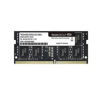 8 GB DDR4 3200 Mhz SODIMM TEAM ELITE TED48G3200C22-S01