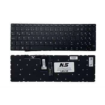 Lenovo 80SM009VTX, 80SM009YTX Uyumlu Laptop Klavye Iþýklý Siyah TR
