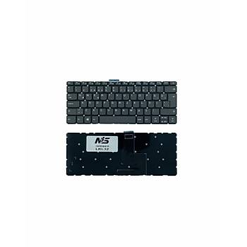 Lenovo IdeaPad 81BN004FTX Uyumlu Laptop Klavye Füme TR