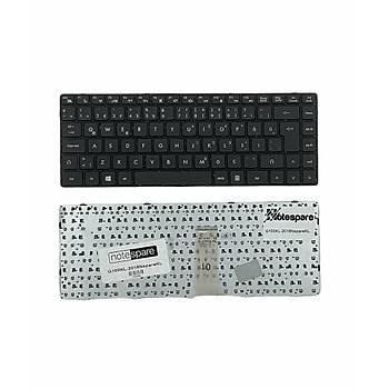 Grundig GNB 1450 B2 B8 Slimbook Uyumlu Laptop Klavye Siyah TR