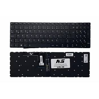 Lenovo IdeaPad 310-15ISK Uyumlu Laptop Klavye Iþýklý Siyah TR