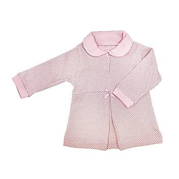 Sema Baby Puantiyeli Elbise 2'li Takým 6 Ay - Pembe