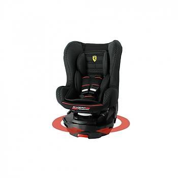 Ferrari Titan Isofixli 0-25kg 360° Dönebilen Oto koltuðu - NERO