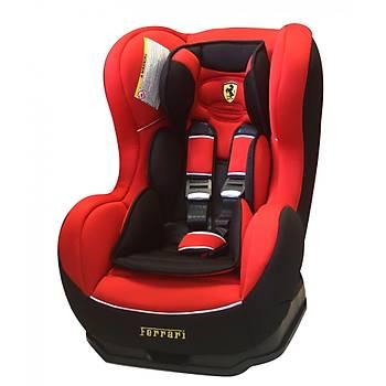 Ferrari Cosmo Isofix 9-25 kg Oto Koltuðu - Kýrmýzý (WOMPRÝVE'den)