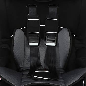 ComfyMax Lux 9-36kg Oto koltuðu Premium Black