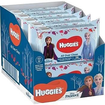 Huggies Frozen Islak Mendil 10x56 Adet