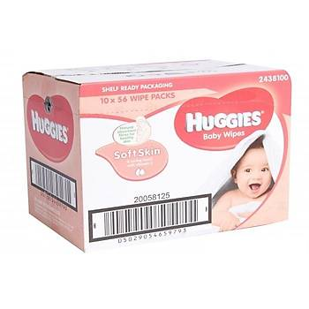 Huggies Baby Islak Mendil (Soft Skin) 56x10 ( 560 Yaprak )
