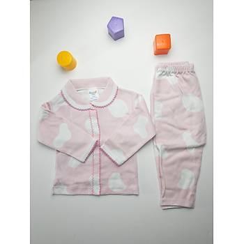 Pembe Bulutlu Bebek Pijama Takýmý
