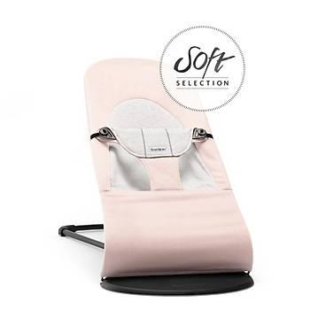 BabyBjörn Balance Soft Ana Kucaðý Light Pink / Grey Cotton Jersey