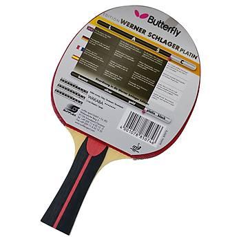 Masa Tenisi Raketi Butterfly Schlager Platin