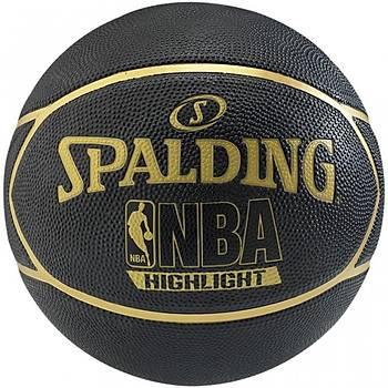 Basketbol Topu Spalding Highlight Black