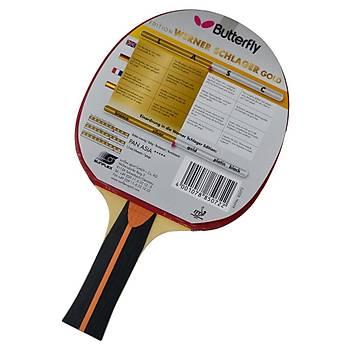 Masa Tenisi Raketi Butterfly Schlager Gold