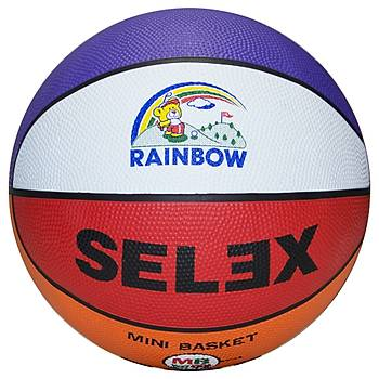 Basketbol Topu Selex Rainbow 3 No