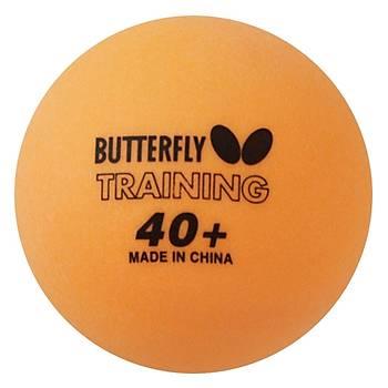 Masa Tenisi Topu Butterfly Training Balls 40+ Turuncu