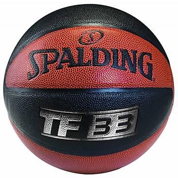 Basketbol Topu Spalding TF-33 Silver