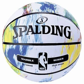 Basketbol Topu Spalding NBA Marble Rainbow
