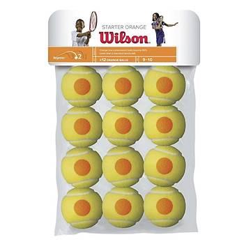 Tenis Topu Wilson Starter Orange 12'li