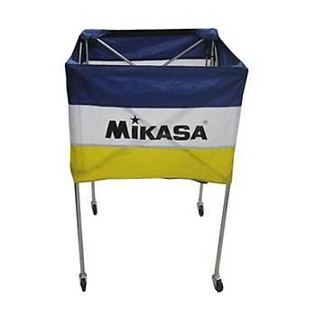 Top Taşıma Sepeti Mikasa Mavi-Beyaz-Sarı