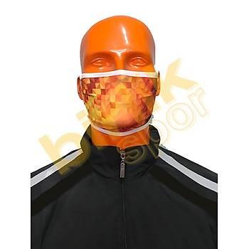 Maske (Dijital Baskılı) Yıkanabilir
