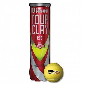 Tenis Topu Wilson Tour Clay Red