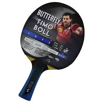 Masa Tenisi Raketi Butterfly Timo Boll Black