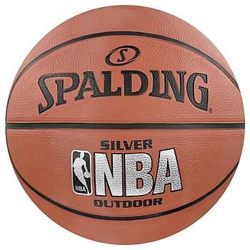 Basketbol Topu Spalding NBA Silver