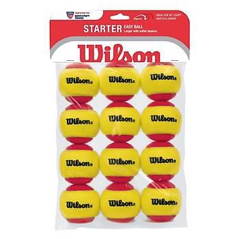 Tenis Topu Wilson Starter Red 12'li