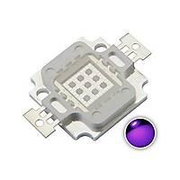 UV Mor LED Ultraviyole Lamba Cip 365nm 10W Yüksek Güç Iþýðý