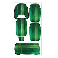 DJI Mavic Pro Platinum için Green Wood Su Geçirmez PVC Cilt Çýkartma Seti