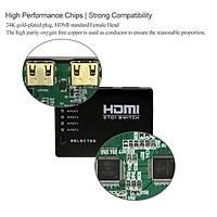 HDMI 1080p Hd Spilitter 5 Port Daðýtýcý Hub Kutusu ve Uzaktan Kumanada