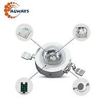 3W UV Boncuk Power Led 390-395nm 700 mAh Ø 8mm 3.2-3.4V