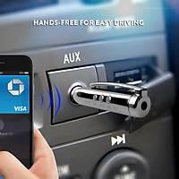 Araç Kiti Kablosuz Bluetooth 4.2 Aux Ses ve Müzik Alýcý Adaptörü 3.5mm jack