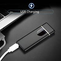 Alevsiz Çakmak Parmak Ýzli Dokunmatik Sensör USB Þarjlý Dekoratif