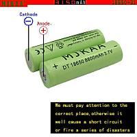 18650 Þarj Edilebilir Pil Li-ion 3.7 Volt MJKAA 3150 mAh