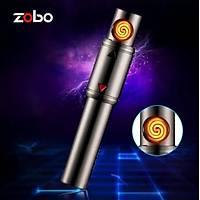 Elektrikli Bobin Metal Elektrikli Parmak Çakmak USB Þarjlý Anti Rüzgar