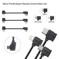 DJI Mavic 2 Pro Tip-C Veri Kablosu 10 cm Telefonlar Ýçin Siyah Renk