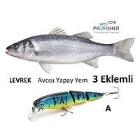 PROFISHER Levrek Avcýsý Zoka Sert Yapay Yem 15,5 gr 10 cm