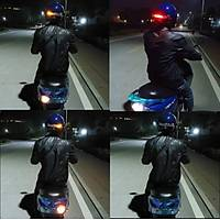 Motosiklet ATV Kablosuz Kask Fren Sinyal 12V Led Emniyet Uyarý Iþýk