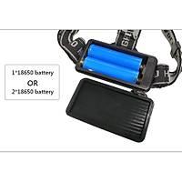 5 Beyaz 2 Kýrmýzý Led Kafa Feneri USB Þarj Portlu CREE XML T6 18650