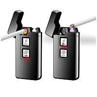 2 in 1 Dokunmatik Elektronik Çakmak Tesla – Plazma Ark USB Þarjlý Rüzgar Geçirmez