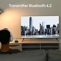 Bt 4.2 Rx-Tx Ses Alýcý Verici 3.5mm APTX Adaptör TV Kulaklýk Hoperlör Playstation 4